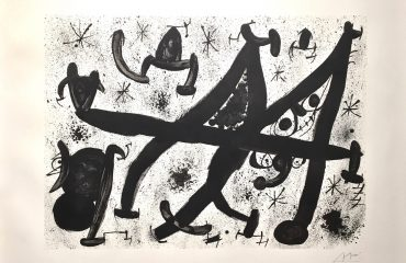 Homage to Joan Prats by Joan Miro  (SOLD)