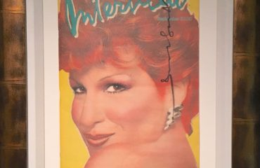 Interview Magazine – Bette Midler 1982 – Signed by Andy Warhol – NOT FOR SALE