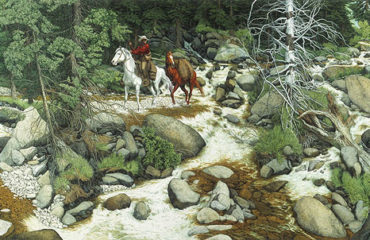 Forest Has Eyes – Bev Doolittle