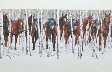 Two Indian Horses – Bev Doolittle  (SOLD)