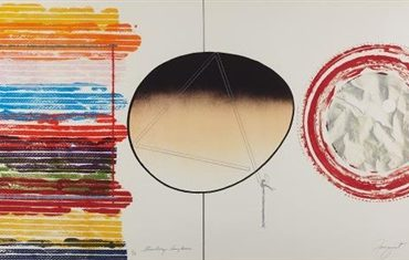 Strawberry Sunglasses by James Rosenquist  (SOLD)