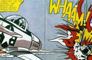WHAAM! by Roy Lichtenstein  (SOLD)