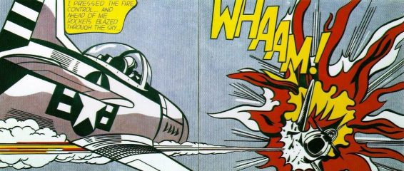 WHAAM! by Roy Lichtenstein  (SOLD)