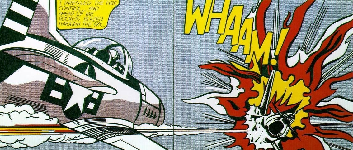 WHAAM! by Roy Lichtenstein – 1963