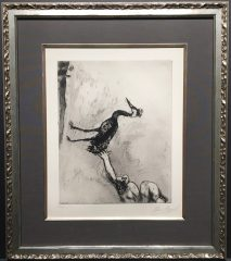 The Frogs Who Asked For A King by Marc Chagall