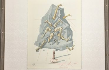 The Simoniac – Inferno – Canto 26 by Salvador Dali (SOLD)