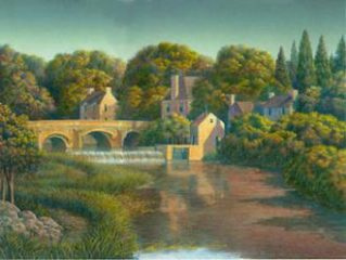 Beneath The Spillway by Jim Buckels