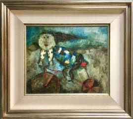 La Bicyclette Rouge by Graciela Rodo Boulanger