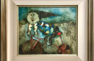 La Bicyclette Rouge by Graciela Rodo Boulanger