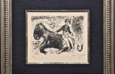 Boy with Horse by Marc Chagall – SOLD