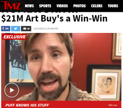TMZ Interviews Our Brett Maly
