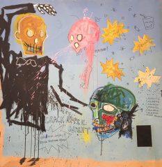 Crack Apple Night by Jean-Michel Basquiat