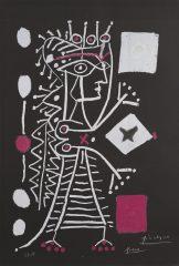 La Femme Aux Des (Jacqueline) by Pablo Picasso
