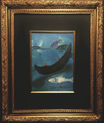 The Dead Dolphin and the Three Hundred Drachmas by Marc Chagall