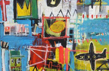 Glory Boys Kingdom by Jean Michel Basquiat