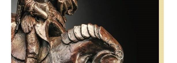 Horse & Rider Original Bronze Sculpture will be brought to auction this fall.