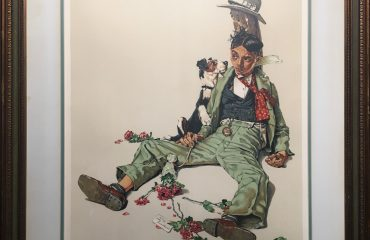 Rejected Suitor by Norman Rockwell