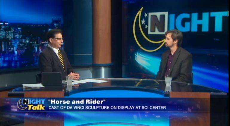 NightTalk of Pittsburg, PA interviews Brett Maly on 5/1/19.