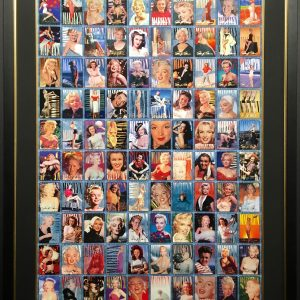 Marilyn Monroe Uncut Trading Card Sheet of (100) Cards
