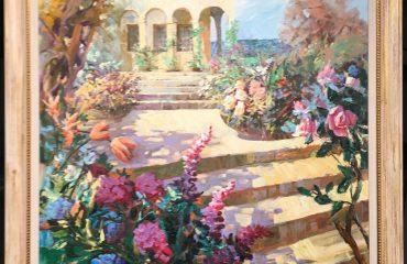 Villa Steps by Misha Borisoff