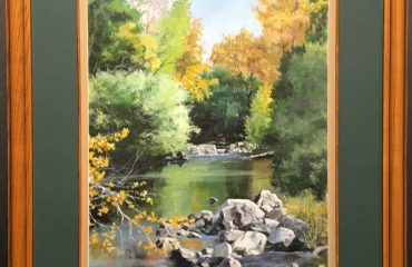 Fall Creek by Conrad Nelson
