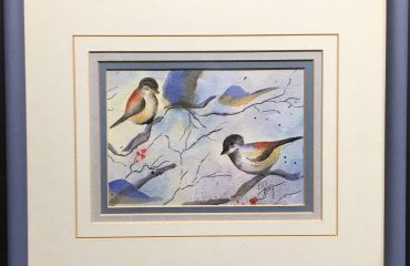 Blue Birds by Barbara Gettman