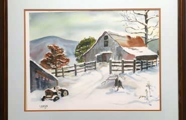 December Day 1987 by Lodema Jensen