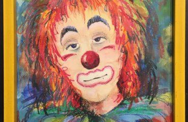 Clown by Bob Dorr