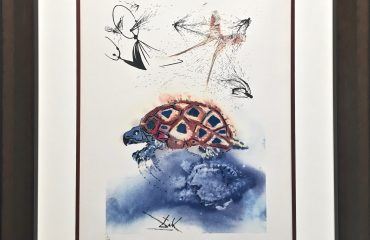 The Mock Turtle's Story by Salvador Dali  (SOLD)