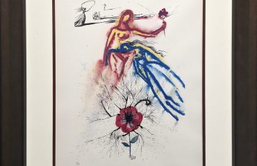 Alice's Evidence by Salvador Dali  (SOLD)