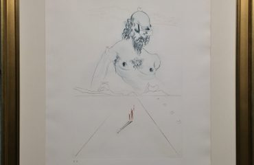 Le Colosse by Salvador Dali  (SOLD)