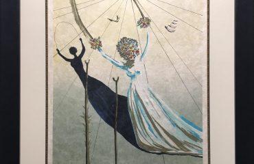 Dream Passage – Arches Girl – Daphne I by Salvador Dali