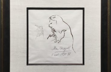 Offering a Dove of Peace by Marc Chagall  (SOLD)